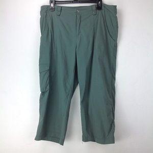 Green Lucy Capri pants